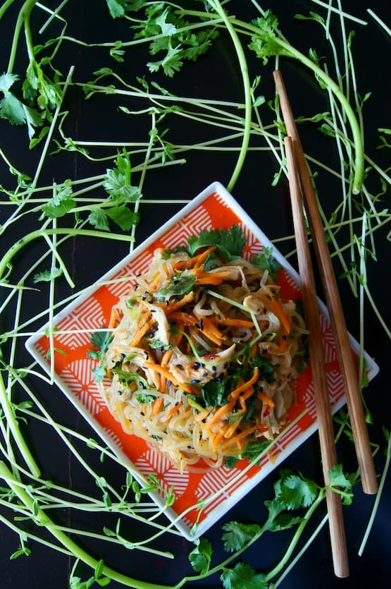 12 fantastic Stir-Fry Asian Noodle Dishes you need to try! Collection at MasalaHerb.com ---Sesame Chicken Shirataki Noodle Stir-Fry Recipe {Gluten-Free} cookingontheweekends.com