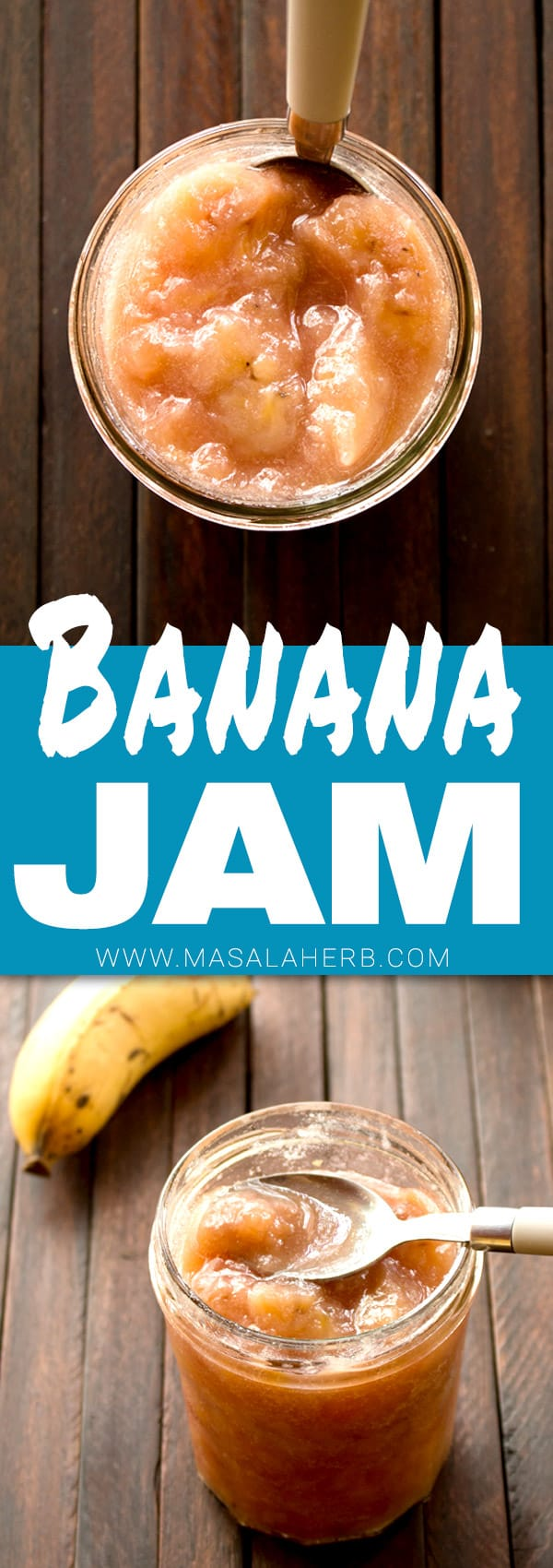 Banana Jam - How to make Banana Jam [Caribbean] | Masala Herb