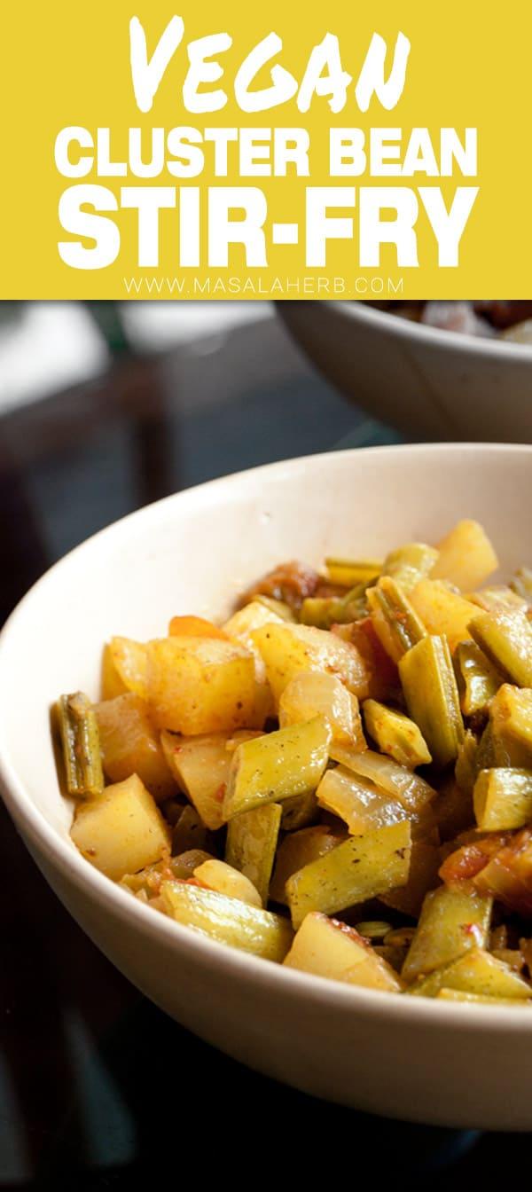 Guar Beans Stir Fry Recipe