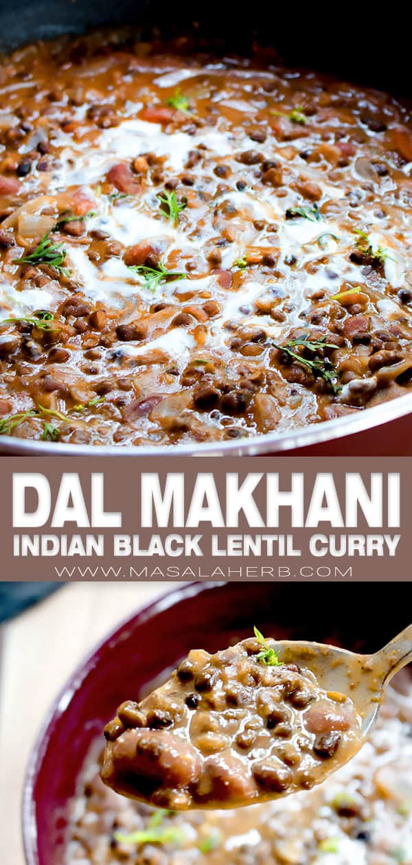 Indian black lentil butter curry