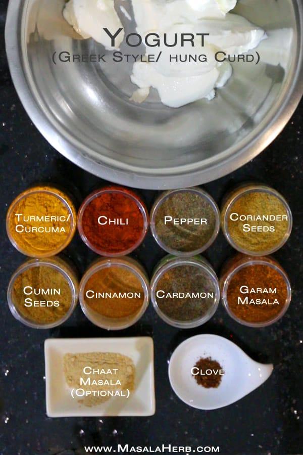 Easy Tandoori Paste Recipe