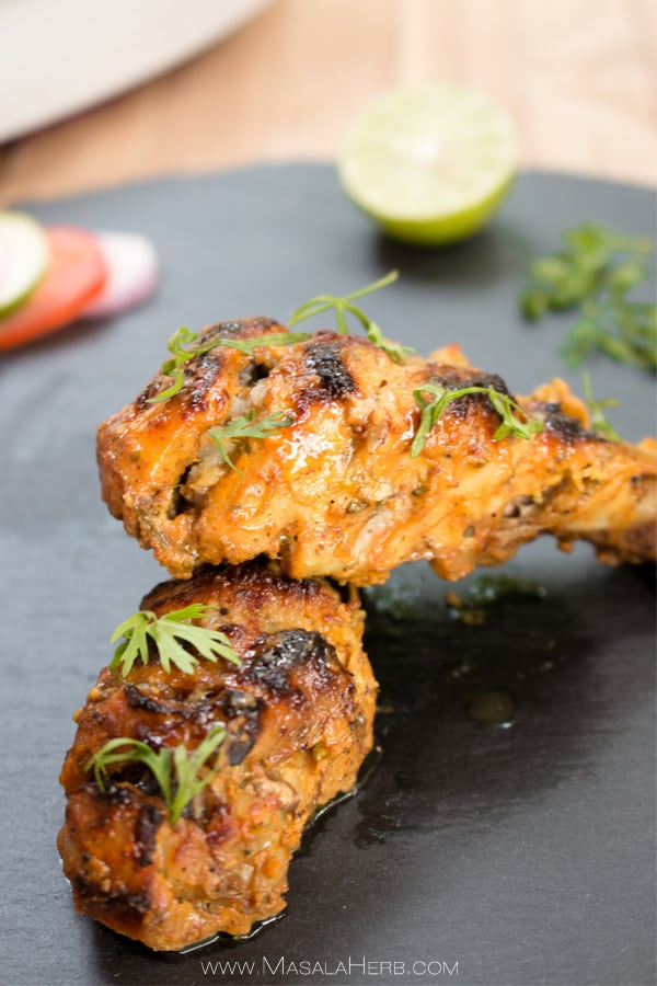 Oven baked tandoori chicken recipe how to make easy tandoori oven baked tandoori chicken recipe how to make easy tandoori chicken with marinade i forumfinder Choice Image