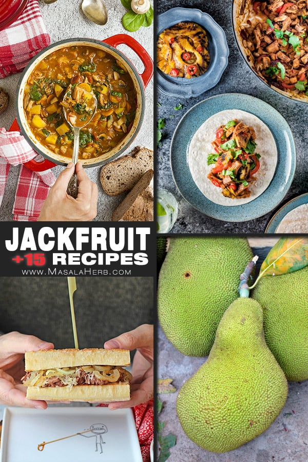 jackfruit recipes pin