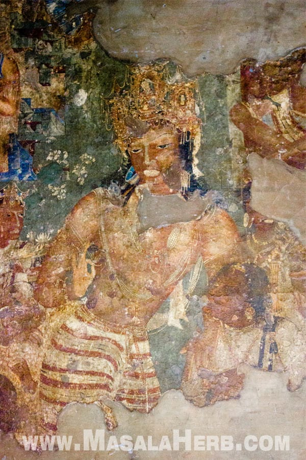 The Prince Ajanta Caves - The Lost World - Breathtaking Ancient Indian Paintings & Sculptures www.MasalaHerb.com