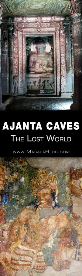 Ajanta Caves - The Lost World - Breathtaking Ancient Indian Paintings & Sculptures www.MasalaHerb.com