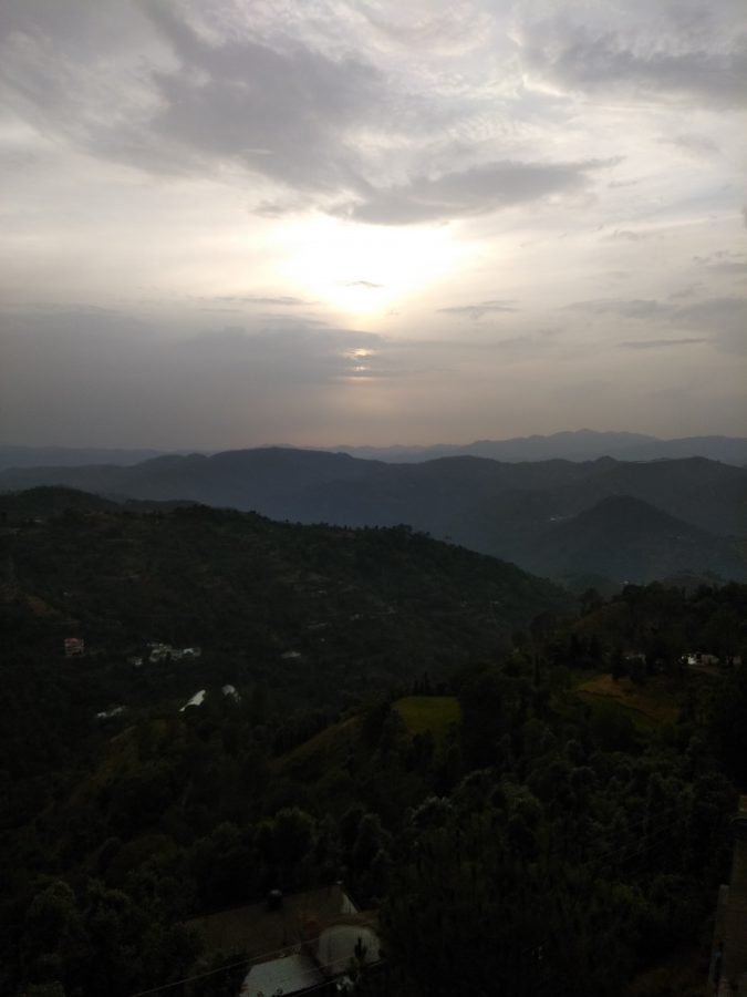 view from our homestay in shimla - Road Trip Goa to Himachal, Manali - Travel Route planning Guide Checklist for Adventure trip to Himalayas India www.MasalaHerb.com