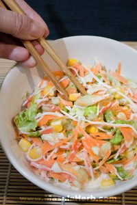 Kani Salad – How to make Kani Salad