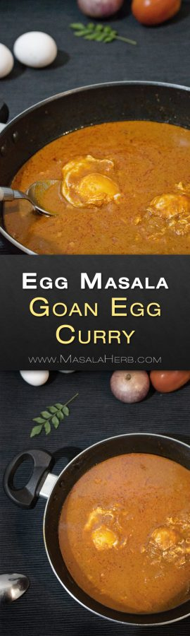 One Pot Egg Masala Recipe