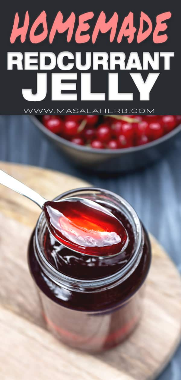 Easy Red Currant Jelly Recipe
