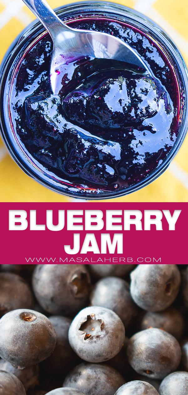blueberry jam pin