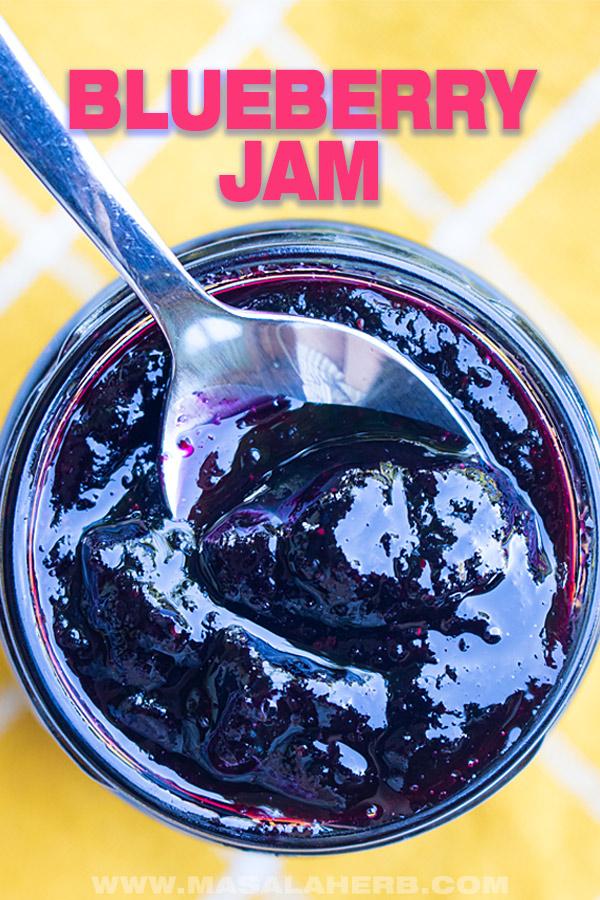 blueberry jam picture recipe