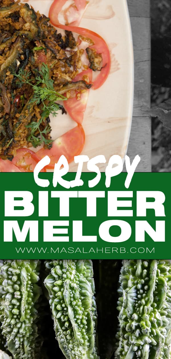 Crispy Bitter Melon Recipe - How to cook Bitter Melon