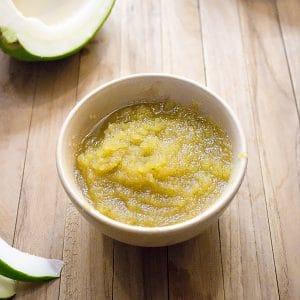 Papaya Paste - Natural Meat tenderizer - How to make & store papaya paste [+Video]
