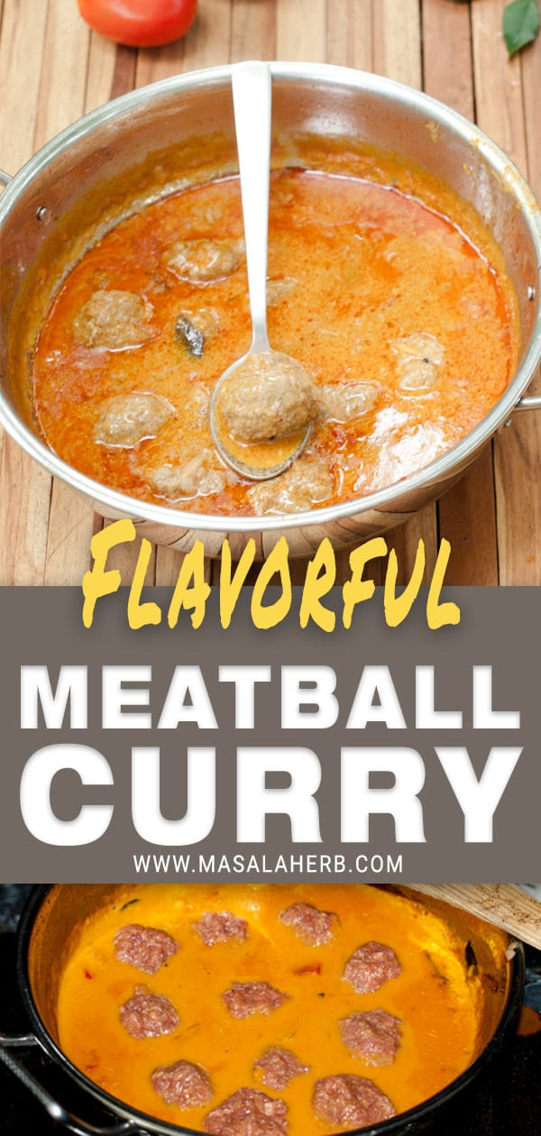 Meatball Curry - Indian Beef Kofta Recipe