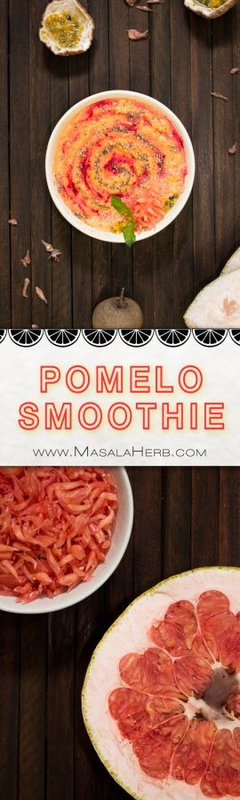 pomelo fruit fruit smoothie