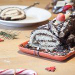 Easy Yule Log Recipe – Christmas Bûche de Noël Cake [French]