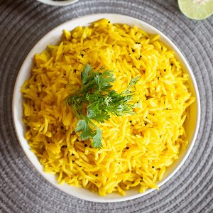 Lemon Rice Recipe - How to make South Indian Lemon Rice [EASY]