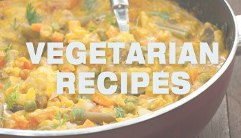 Vegetarian Recipes - Collection of Vegetarian food ideas at www.MasalaHerb.com