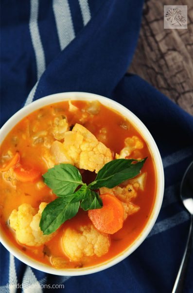 +17 Indian Lentil Recipes - Collection of Easy Dal Dishes [Healthy] RED CURRY SOUP WITH LENTILS
