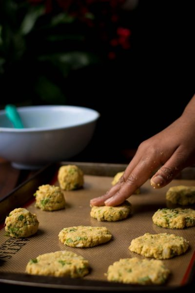 +17 Indian Lentil Recipes - Collection of Easy Dal Dishes [Healthy] BAKED MASALA VADA (CHICKPEA FRITTERS)