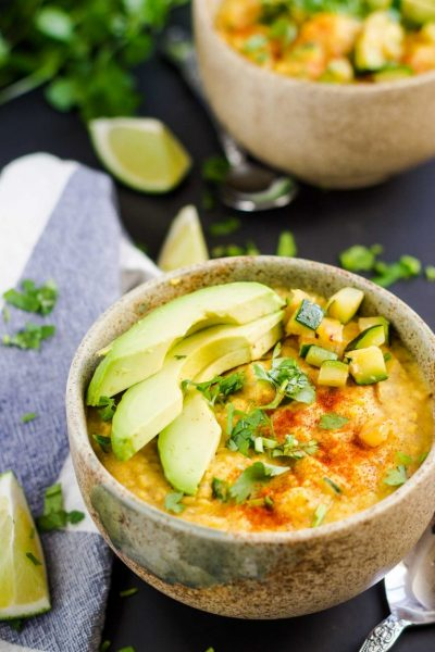 +17 Indian Lentil Recipes - Collection of Easy Dal Dishes [Healthy] Zucchini Turmeric Red Lentil Stew