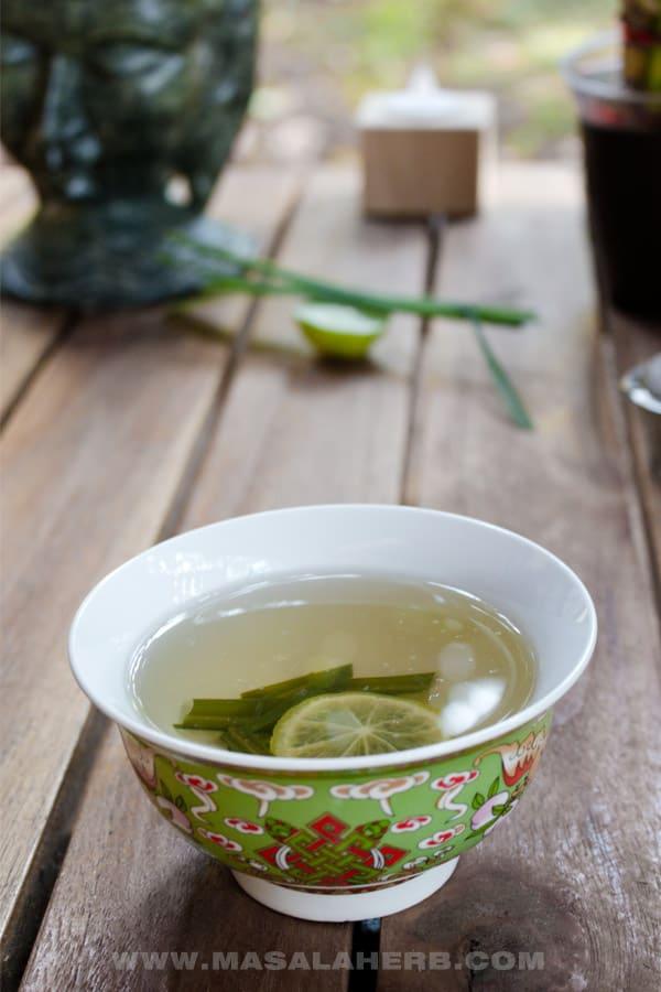 Fresh Lemongrass Tea Recipe - How to make Lemongrass Tea ...