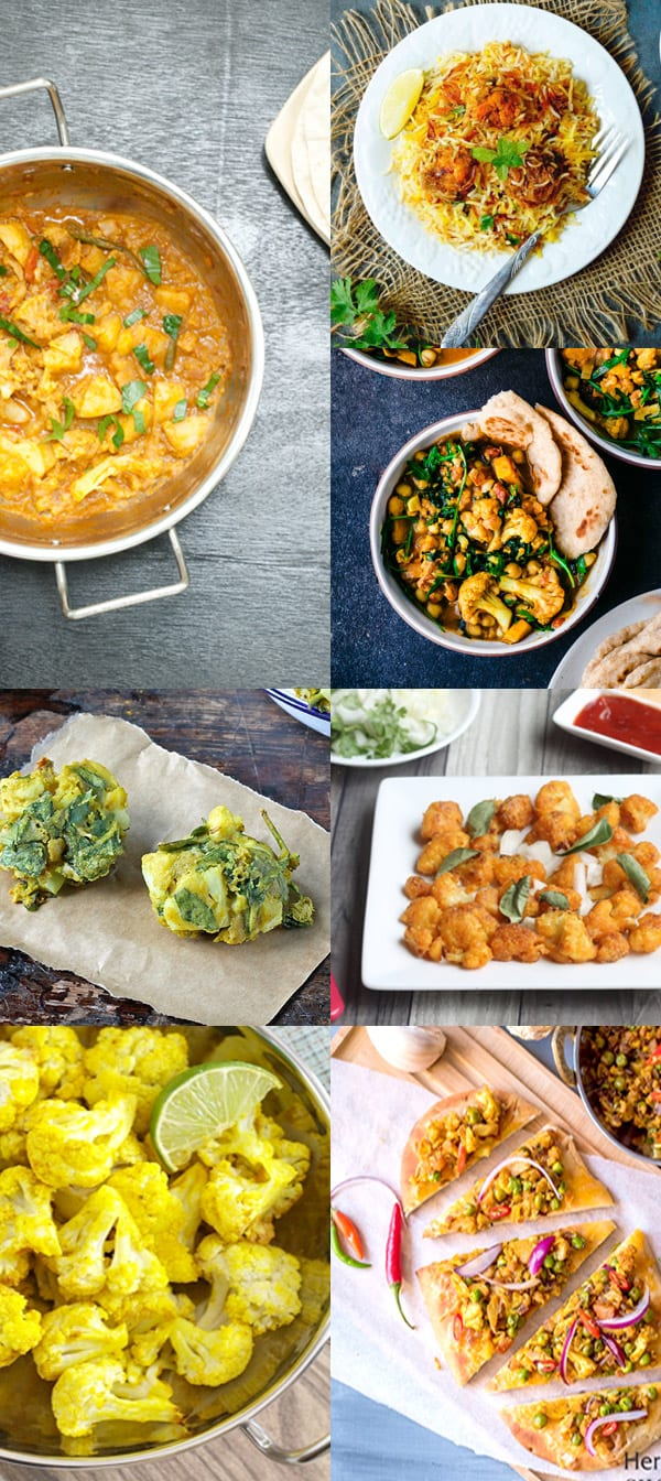 +15 Indian Cauliflower Recipes