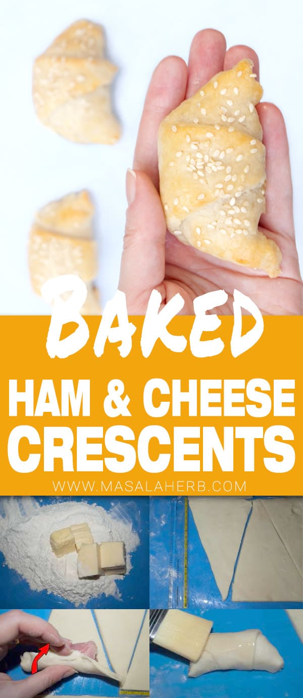 Ham and Cheese Crescent Rolls Recipe