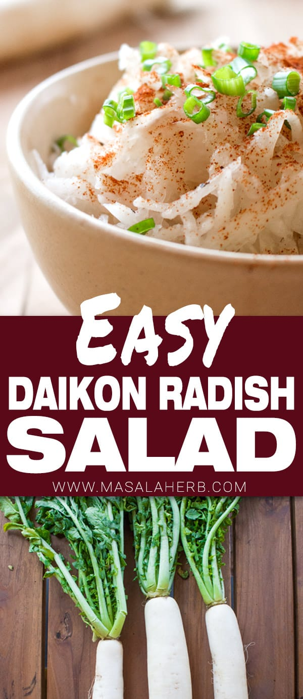 Daikon Radish Salad Recipe
