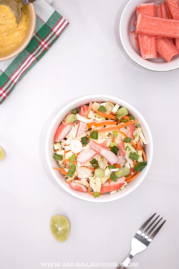 Easy Crab Salad Recipe [Seafood Salad]