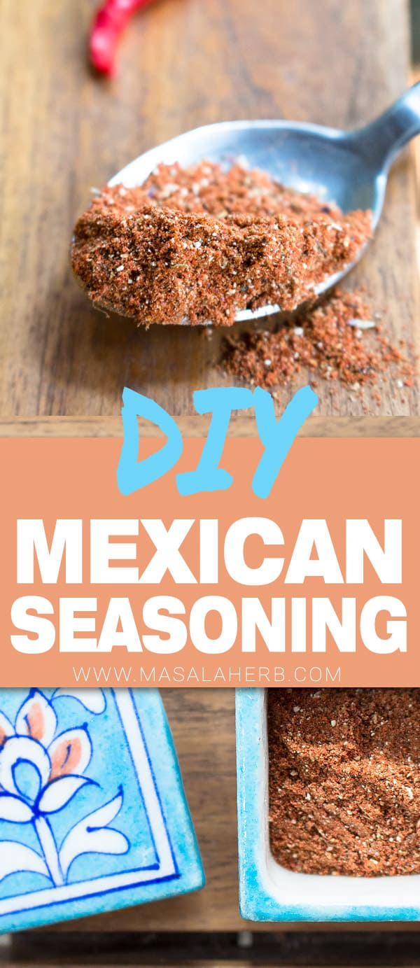 Mexican Seasoning - Taco Seasoning Spice Blend [DIY]