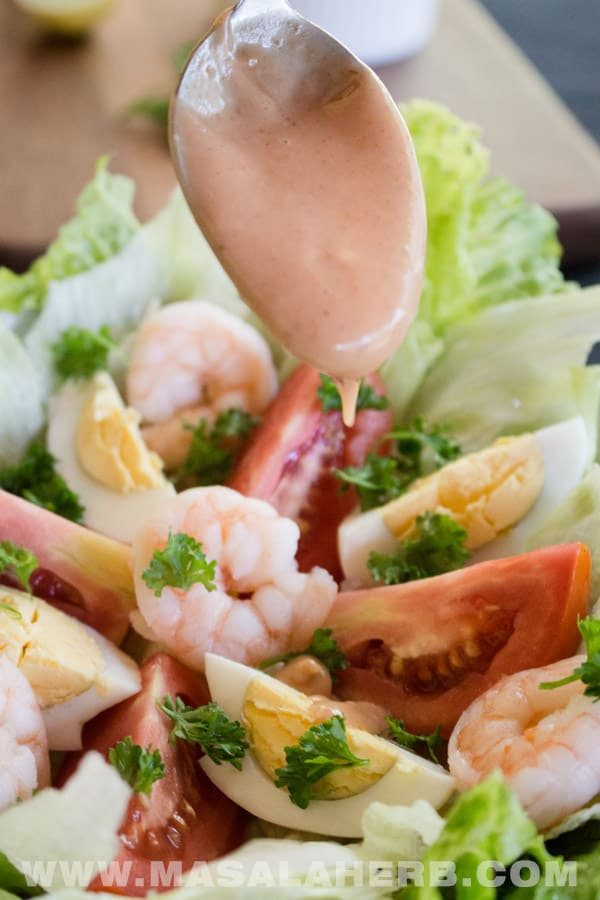 Shrimp Louie Salad Recipe