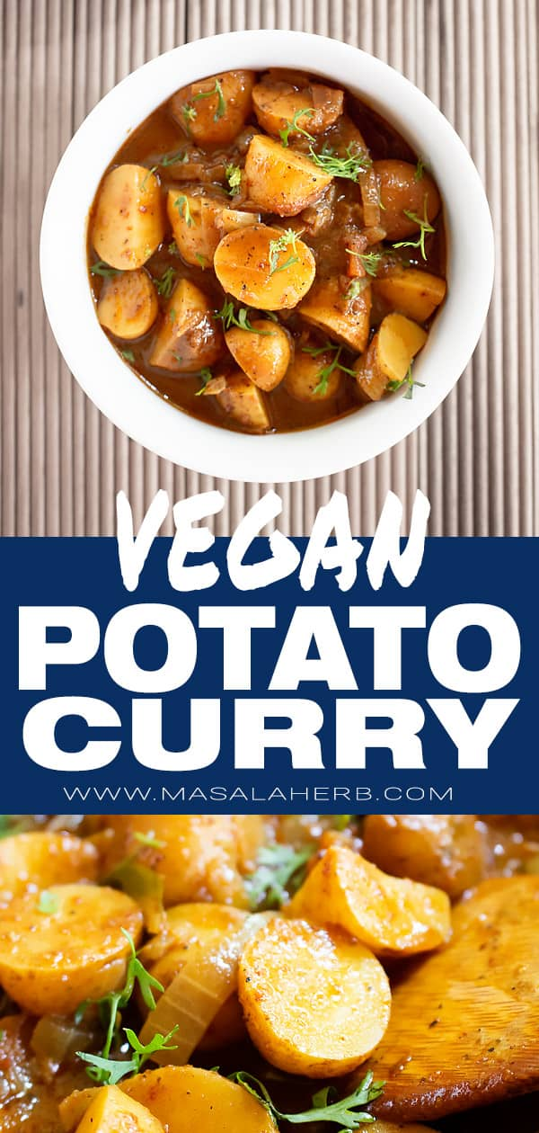 Vegan Potato Curry Recipe