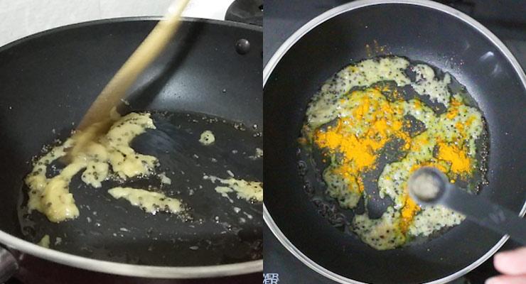 add ginger and garlic and season