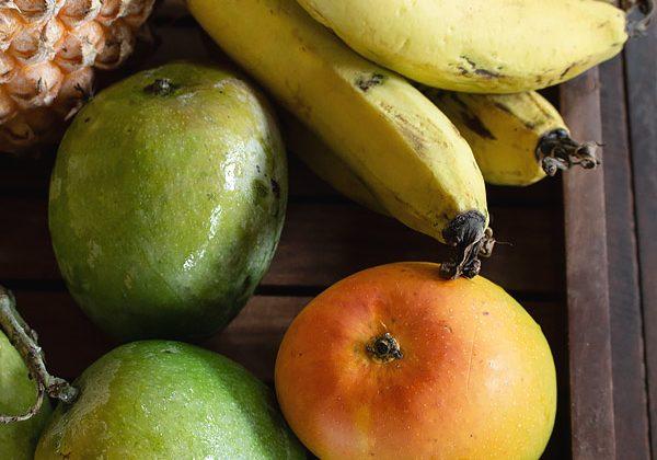 Mango Pineapple Banana Smoothie