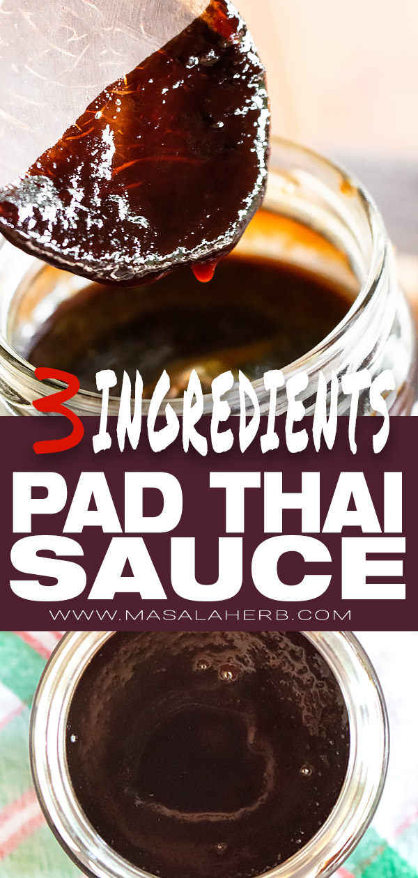 Easy Pad Thai Sauce Recipe - 3 ingredients [DIY]