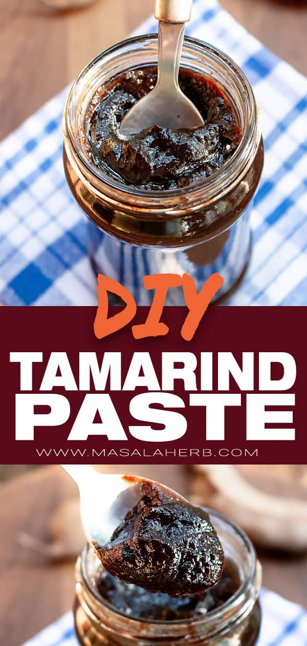 Tamarind Paste - How to make Tamarind Paste