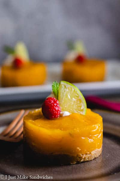 No Bake Mango Pie