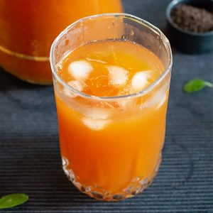 Fresh Mango Iced Tea