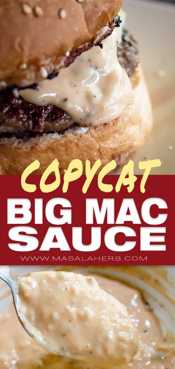 Big Mac Sauce Recipe [Copycat]