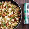 Quick Cabbage Sausage Skillet