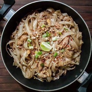 Easy Chicken Pad Thai Recipe