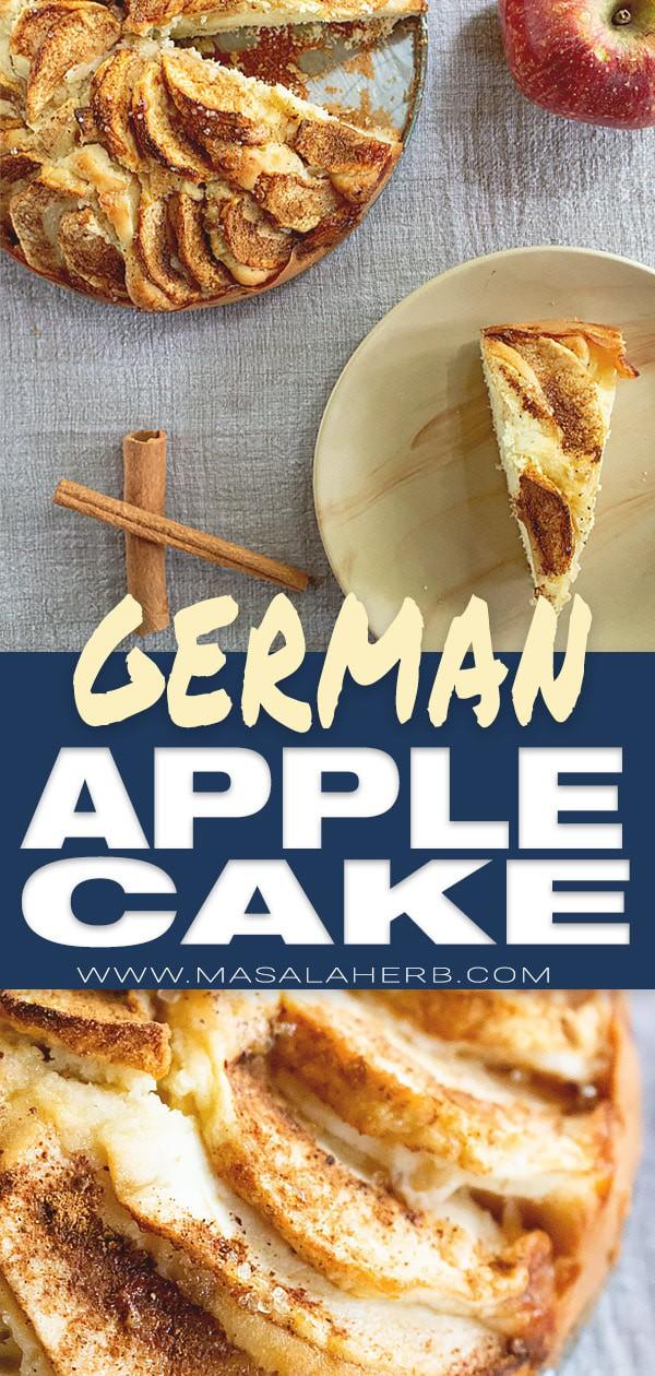 Easy German Apple Cake Recipe - Apfelkuchen