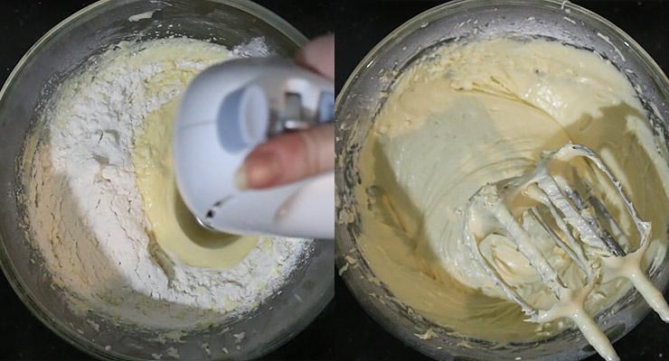 combine batter ingredients