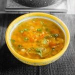 Spicy Moroccan Lentil Soup - Veg Harira Recipe [+Video]