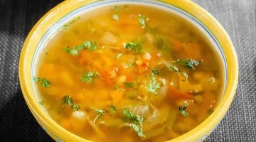 Spicy Moroccan Lentil Soup – Veg Harira Recipe [+Video]