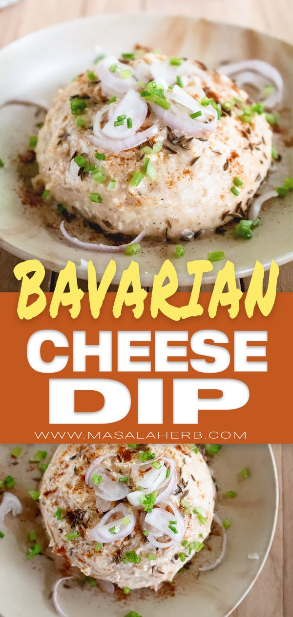 Obatzda Recipe - Bavarian Cheese Dip