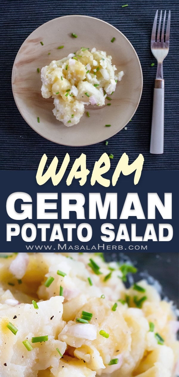 Authentic German Potato Salad Recipe [Bavarian]