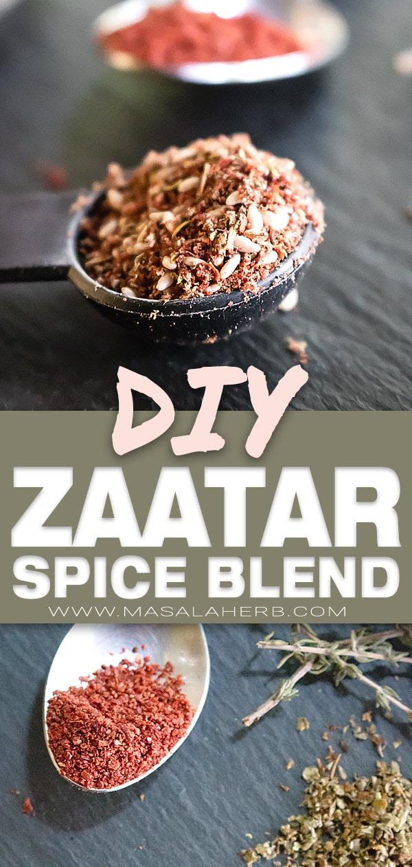Lebanese Zaatar Spice Blend Recipe