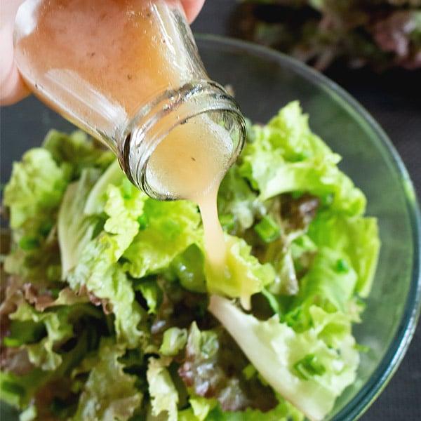Everyday Green Salad [Simple Side Salad]